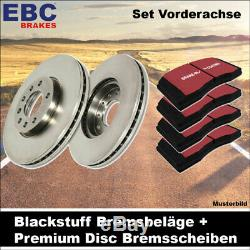 EBC Kit de Freins Essieu Étoffe Noire Plaquettes Premium Disc Disques 21633