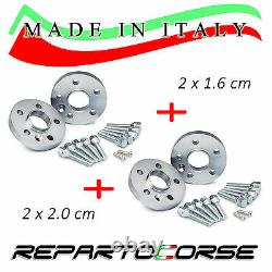 ELARGISSEUR DE VOIES REPARTOCORSE 2x16mm+2x20mm SMART FORTWO (451) MADE IN ITALY