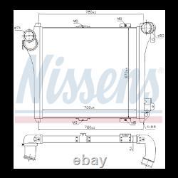 Echangeur air air neuf NISSENS 97075