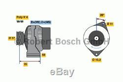 Générateur Bosch 0 986 049 131 (Incl. Dépôt)