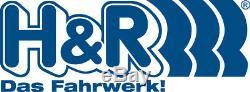 H & R Entretoises de Roue avant + Arrière ABE pour Smart 20mm Noir / si