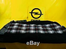 Neuf + Original Opel Oldtimer Housse de Siège à Carreaux Lot Coussin Tissu