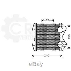 Orifice de Ventilation Latétal Suralimentation Radiateur Smart Fortwo Coupé