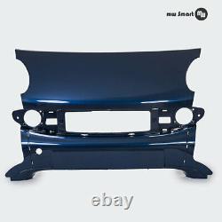 Partie Frontale Médiane Smart 450 Coupé Facelift Bleu (Étoile Bleu Métallique)