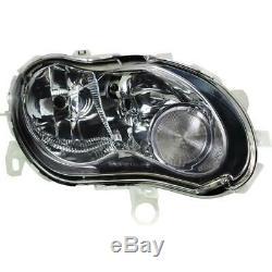 Phare Halogène Kit H7/H1 pour Smart Cabriolet City-Coupe Inclus Lampes