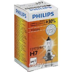 Phare avant Set Smart City-Coupe Année 07 / 98-02/07 H7+H1 avec Philips Lampes