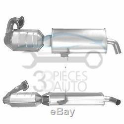 Pot Catalytique SMART CITY COUPE 0.6i (OBD & pas OBD) 7/98-1/04
