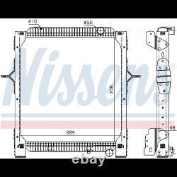 Radiateur d'eau neuf NISSENS 65476