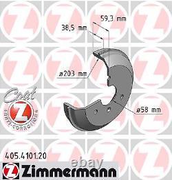 Tambour de Frein Coat Z Zimmermann 405.4101.20