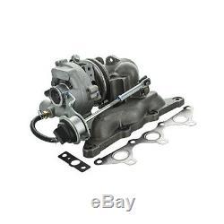 Turbocompresseur Smart Cabrio 0.6 (450.432) 52kw 71cv 06/200201/04 Km6900008 V1